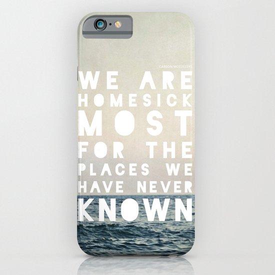 Homesick iPhone & iPod Case