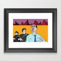 COBRADRELLA- Le Septièm… Framed Art Print