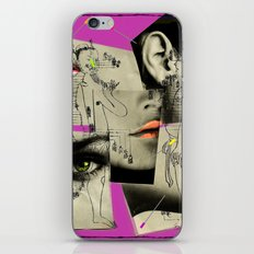 accupuncture iPhone & iPod Skin