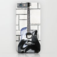 Be Your Song and Rock On in White iPhone 6 Slim Case