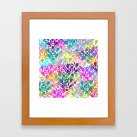 Sello Framed Art Print