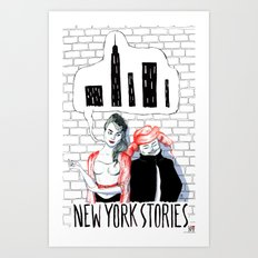 New York Stories Limited Edition Poster Art Print