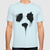 PANDA Mens Fitted Tee Light Blue SMALL