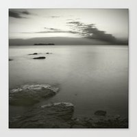 Aguas Calmas Canvas Print