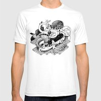 Gasfiter Galaz! Mens Fitted Tee White SMALL