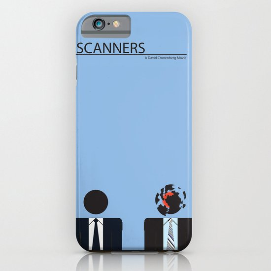 Scanners - Altenative Movie Poster iPhone & iPod Case