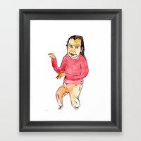 spagett Framed Art Print