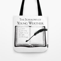 The Sorrows of Young Werther by Goethe Tote Bag