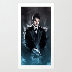 Gotham - The Penguin Art Print