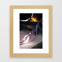 Heavy Metal Sailor Moon … Framed Art Print