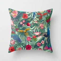 tropical fun nature  Throw Pillow