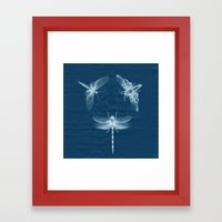 X-RAY Insect Magic Framed Art Print