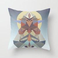 Samuradiator II Throw Pillow