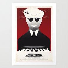 Dr STRANGELOVE (SK Films) Art Print