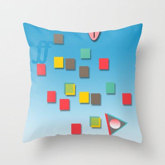 Surƒƒing Throw Pillow