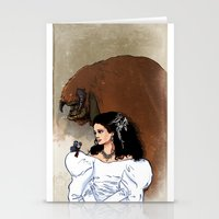 Beauty and Beast Stationery Cards