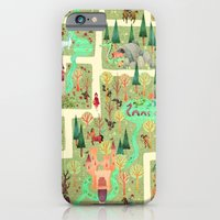iPhone & iPod Case featuring The Enchanted Forest  by Anne Lambelet