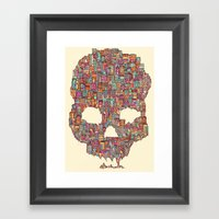 OldSkull City Framed Art Print