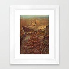 alpacalypse Framed Art Print
