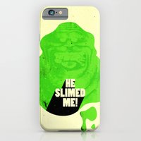 iPhone & iPod Case featuring He Slimed Me! by Derek Eads