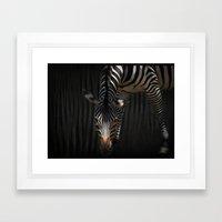 Stripes On Stripes Framed Art Print