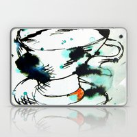 Green & Black,& A Tea Cu… Laptop & iPad Skin