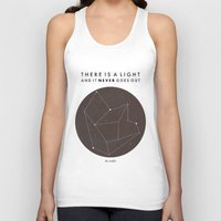 There Is A Light Unisex Tank Top