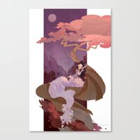 Snow White Canvas Print