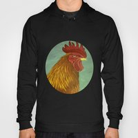 Rooster Portrait Hoody