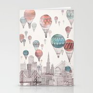 Voyages Over San Francis… Stationery Cards