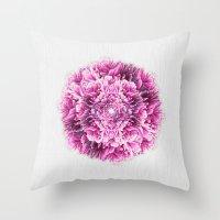 the pinkest  Throw Pillow