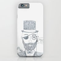iPhone & iPod Case featuring Upperclass Pirate by Cathy Kibe