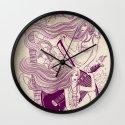 Music, Love, Peace Wall Clock