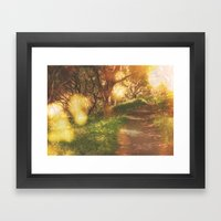 Oak Trail Framed Art Print