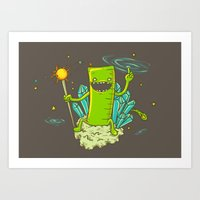 Ruler of the Universe Art Print