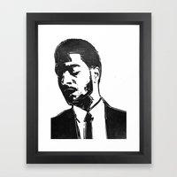 That One Kid Framed Art Print