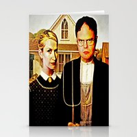 Dwight Schrute & Angela … Stationery Cards