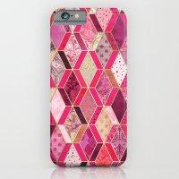 Wild Pink & Pretty Diamo… iPhone 6 Slim Case