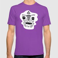 stencil face TEE invert Mens Fitted Tee Ultraviolet SMALL
