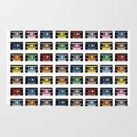 80 Rainbow Tapes Rug