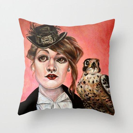 The Falcon Throw Pillow
