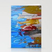Beach Tide Acrylics On S… Stationery Cards