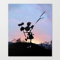 Harley Kid Canvas Print