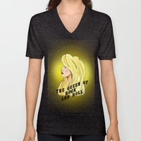 The Queen Of Rock And Ro… Unisex V-Neck