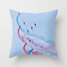 RAF Red Arrows  Throw Pillow