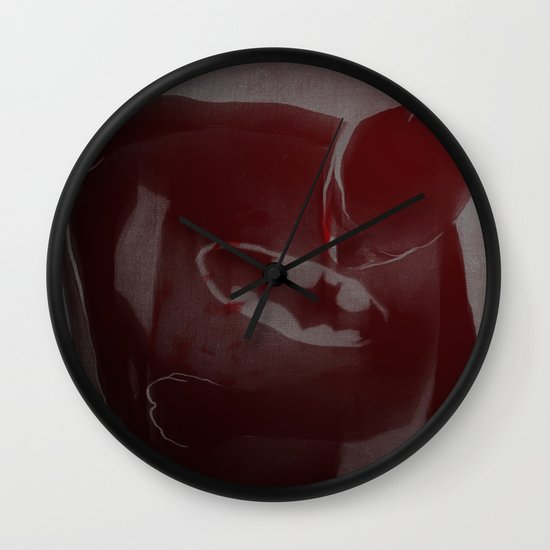 batmaninjured Wall Clock