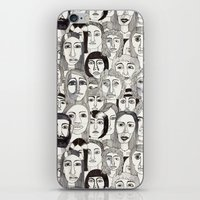 Faces in the Tube iPhone & iPod Skin