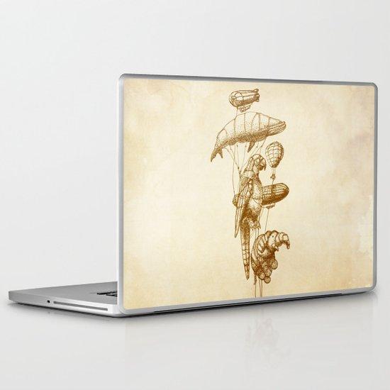 The Helium Menagerie (sepia) Laptop & iPad Skin