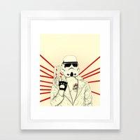 The Troopinator Framed Art Print