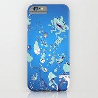 Aquatic Creatures iPhone 6 Slim Case